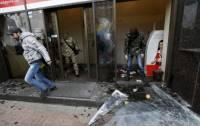 Полиция объявила о подозрении 4 участникам нападений на офис и банки в Киеве
