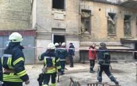 В центре Киева обрушился дом. Есть пострадавшие