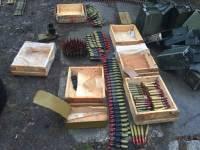 Cпецслужбы накрыли целый «супермаркет» тяжелого вооружения, который вместо фронта должен был попасть в Киев