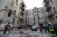 Обвал дома в центре Киева: спасатели извлекли из-под завалов тела двух погибших