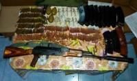 В Сватово обнаружен тайник с оружием
