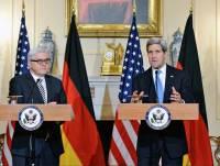 Штайнмайер и Керри требуют прогресса в реализации минских договоренностей