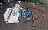 Полиция изъяла у жителя Торецка арсенал оружия и боеприпасов