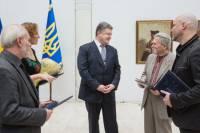 Порошенко раздал Шевченковские премии