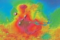Планетологи установили, что Марс в свое время стал жертвой жуткой катастрофы