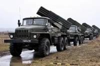 В районе Горловки замечены российские реактивные системы /разведка/