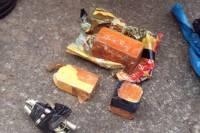 На Донетчине задержали автомобиль с тротилом и боеприпасами