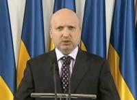 Турчинов анонсировал пуски ракет украинского производства
