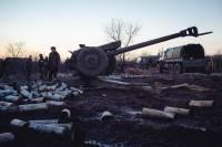 Только  за последнюю неделю позиции сил АТО были обстреляны около 400 раз
