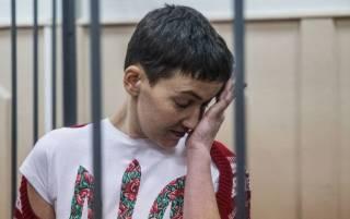 У Савченко появились первые признаки ухудшения здоровья