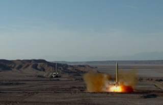 Иран провел испытание баллистических ракет