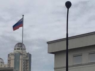 В Одессе протестующие пытались штурмовать консульство России