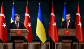 Порошенко и Эрдоган обсудили международную безопасность из-за агрессивной политики России