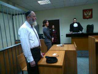 В России член еврейского ХАБАДа призывал плевать в сторону православных церквей /СМИ/