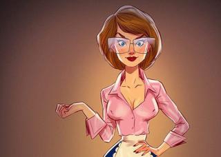 Героинь советских мультфильмов нарисовали в стиле пинап