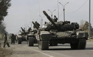 На Мариупольском направлении боевики перебрасывают танки к позициям ВСУ