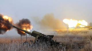 За последние сутки боевики более 70 раз обстреляли наши позиции /АТО/