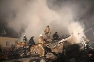 На Одесчине взрыв газа уничтожил дом: под завалами ищут ребенка
