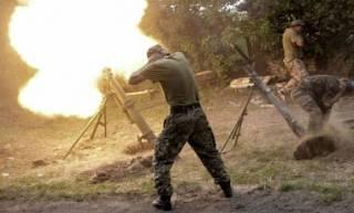 Оккупанты ведут огонь из тяжелого оружия /АТО/