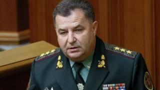 Полторак не видит связи между интенсивностью боевых действий на Донбассе и выводом российских войск из Сирии