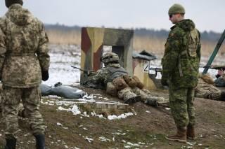 Украинские и канадские военные постреляли вместе на Яворовском полигоне