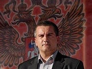 Упитанная рожа Аксенова сравнила подлое воровство Крыма у Украины с великой Победой во Второй мировой войне