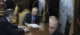 В кабинете Путина замечен убийца... микробов