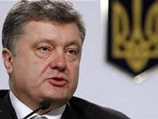 Ситуация на фронте не дает нам оснований надеяться на мирное развитие событий /Порошенко/