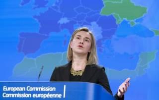 Могерини назвала аннексию Крыма прямым вызовом международной безопасности