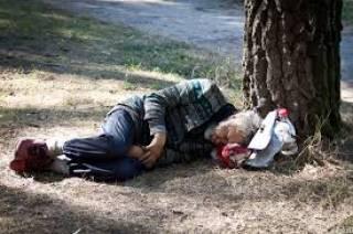 В Киеве за два года резко выросло количество бездомных