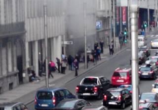 В Брюсселе взорвали метро. Фото с места событий