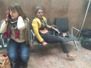 Появились первые фото с места теракта в брюссельском аэропорту