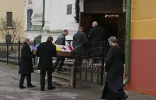 В Киеве проходит прощание с Гонгадзе