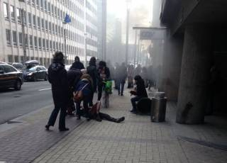 Боевики ИГ взяли на себя ответственность за теракты в Брюсселе