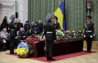 Украина прощается с Лесем Танюком