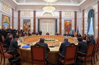 В Минске проходят встречи рабочих подгрупп контактной группы по Донбассу