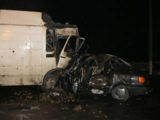 Три человека погибли и двое получили ранения в результате ДТП на Прикарпатье