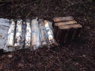 Под Славянском нашли склад боеприпасов на 6 гранатометов и 4000 патронов