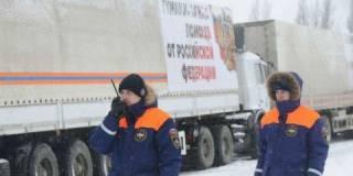 На оккупированный Донбасс вторгся очередной «братский» «гумконвой»