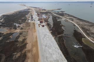 Турция открестилась от сухогруза, врезавшегося в опору «керченского моста»
