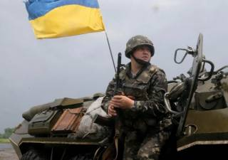 Шестеро украинских военных ранены в зоне АТО за сутки <nobr>/Мотузяник/</nobr>