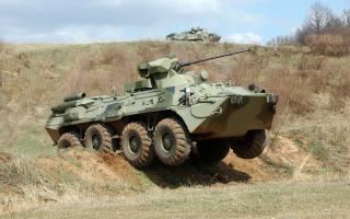 Сумские пограничники увидели в 50 метрах от границы с Украиной российские БТРы