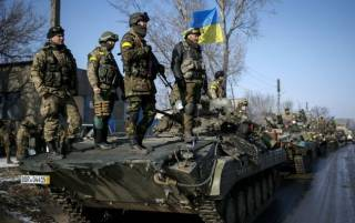 6 украинских бойцов получили ранения за сутки в зоне АТО /Лысенко/