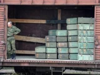 В оккупированный Харцызск прибыл очередной эшелон с боеприпасами для боевиков
