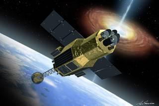 Космический мусор уничтожил японский телескоп для исследования черных дыр