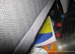 В России водителям с украинскими номерами раздают антиукраинскую литературу