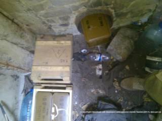В зоне АТО нашли тайник с гранатами