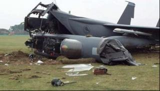 В России при заходе на посадку разбился штурмовик Су-25