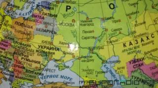 В Белоруссии продаются глобусы, на которых Крым включен в состав России, произведенные в Польше