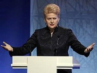 Президент Литвы подбодрила украинцев в связи с референдумом в Нидерландах